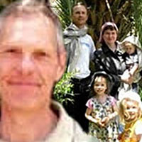 Tony, a British citizen (inset) and the Hentschel family, were abducted in June 2009 in Yemen. While the two daughters were rescued in 2010, it was confirmed this past month that the girls' parents and brother were killed. Tony's whereabouts are unknown.