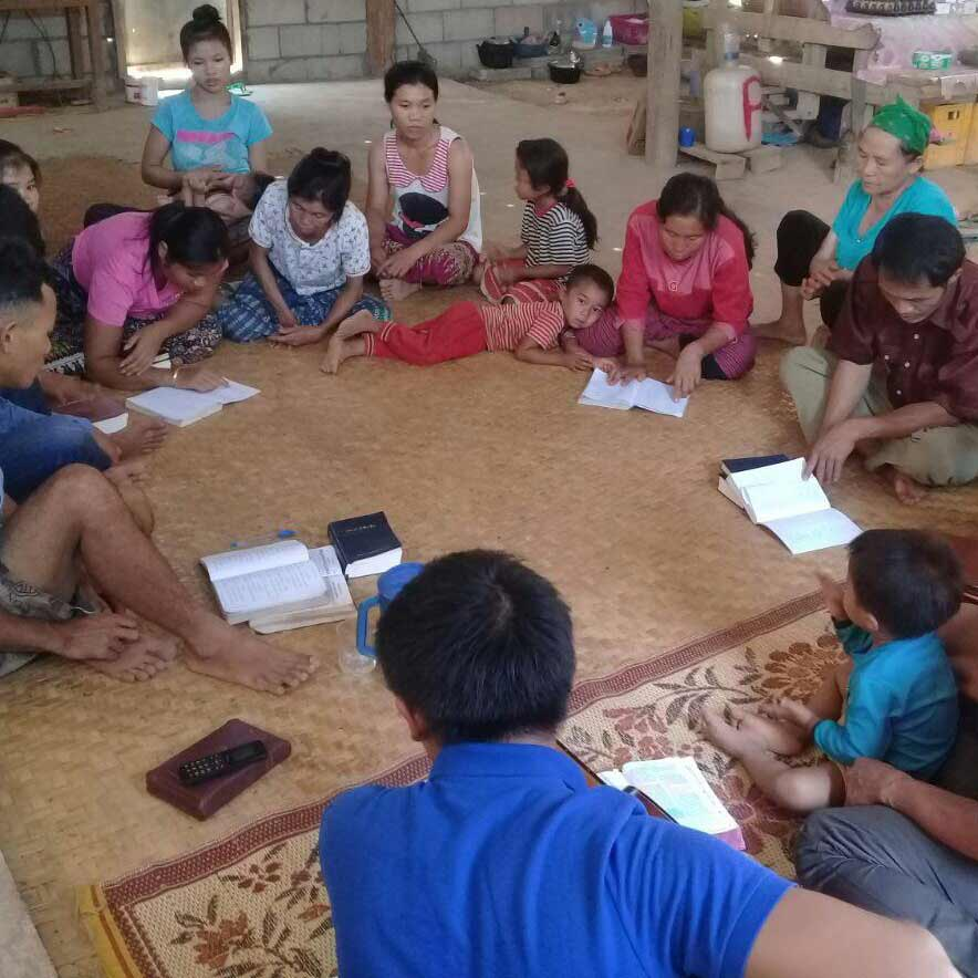 These believers in Laos won the right to worship God in their village.