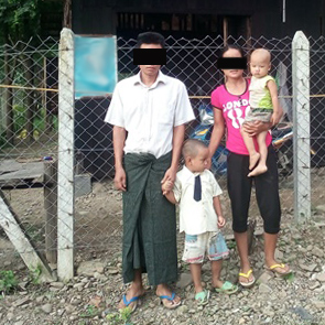Htin and his family continue to serve the Lord.