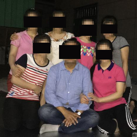Missionary Lee with some of the trafficked North Korean women.