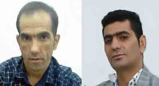 Mohammad Torabi (left) and Abdol-Ali Pourmand (right) were released on an exorbitant bail sum. (Photo Credit: Mohabat News)