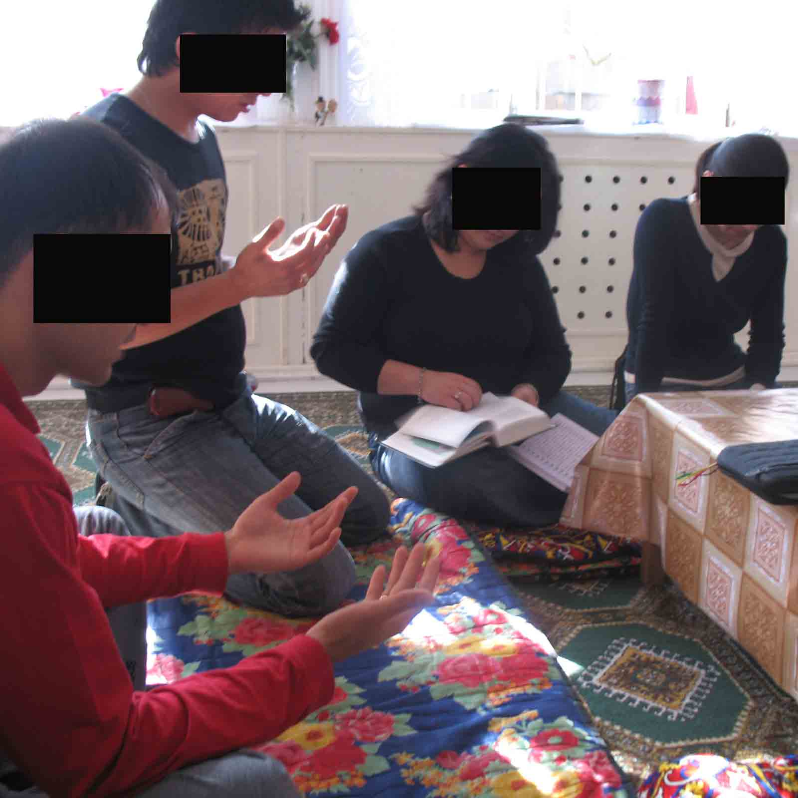 Uzbek Christians are at risk for even having a Bible in their home.