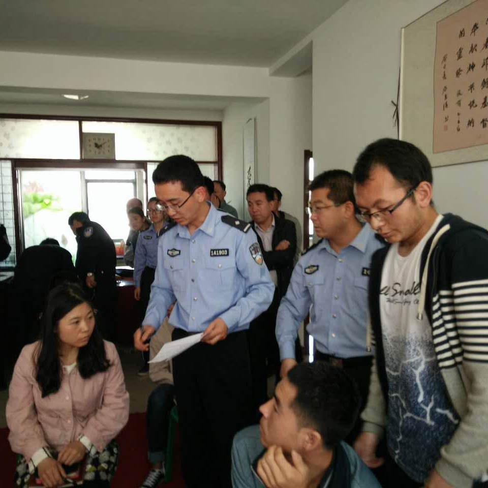 Chinese Christians are arrested in an undated photo from China Aid.