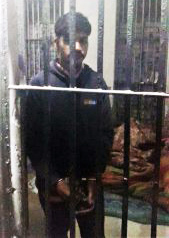 Patra Masih in prison (Credit: Morning Star News)