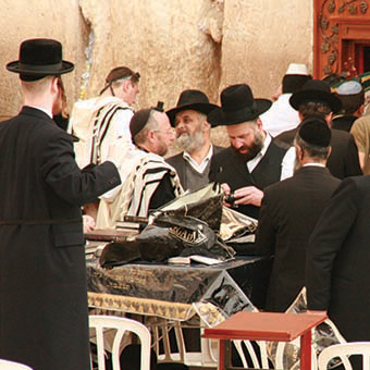 The ultra-Orthodox oppose Eitan's evangelistic work.