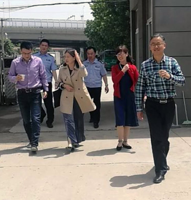 Police interrupted the Bible Reformed Church in Guangzhou mid-service on Sunday, June 10, 2018. They detained the pastor and three others. (Credit: China Aid)