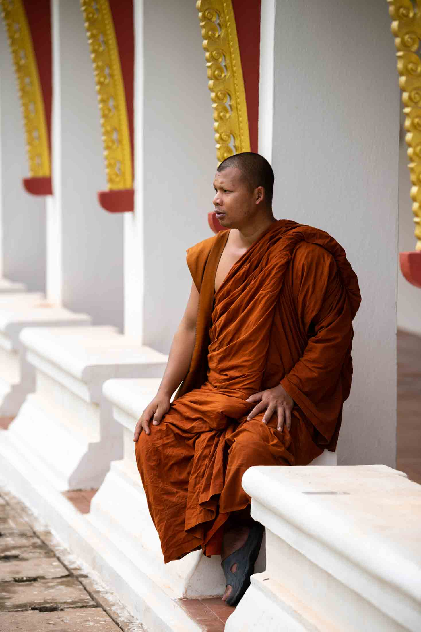 Buddhist monks in Sri Lanka fear that if more people become Christians, the monks will lose their status in Sri Lanka.