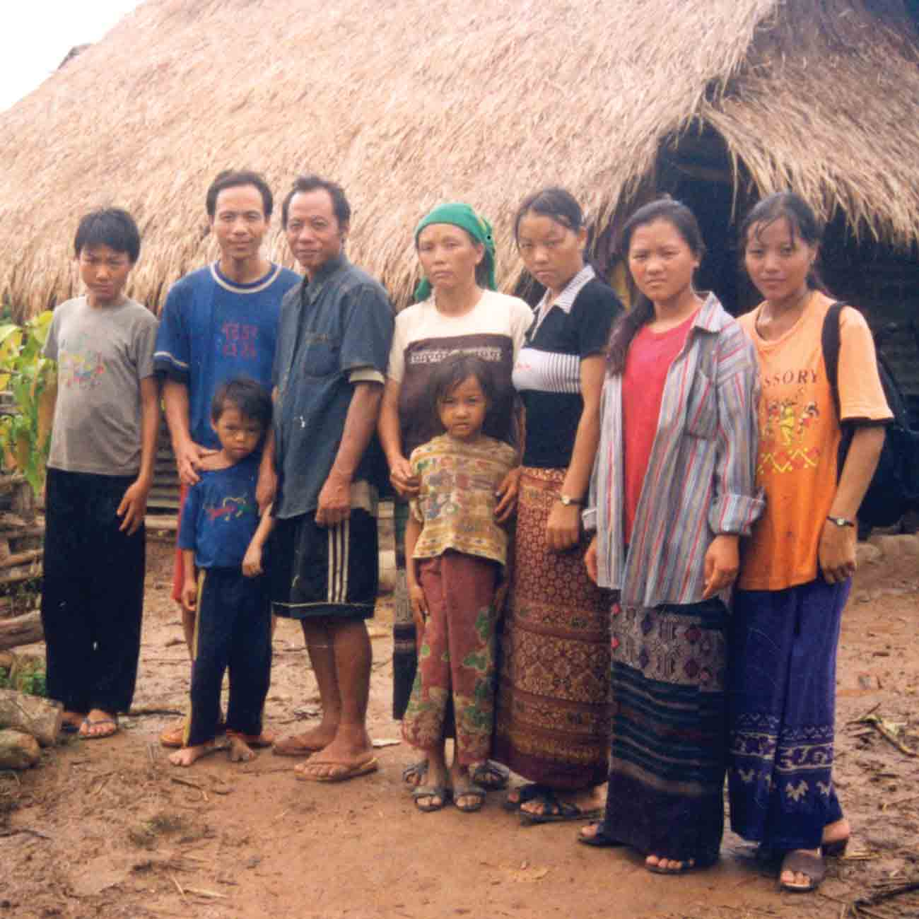 New believers in Analu's village were told to give up their religion or get out.