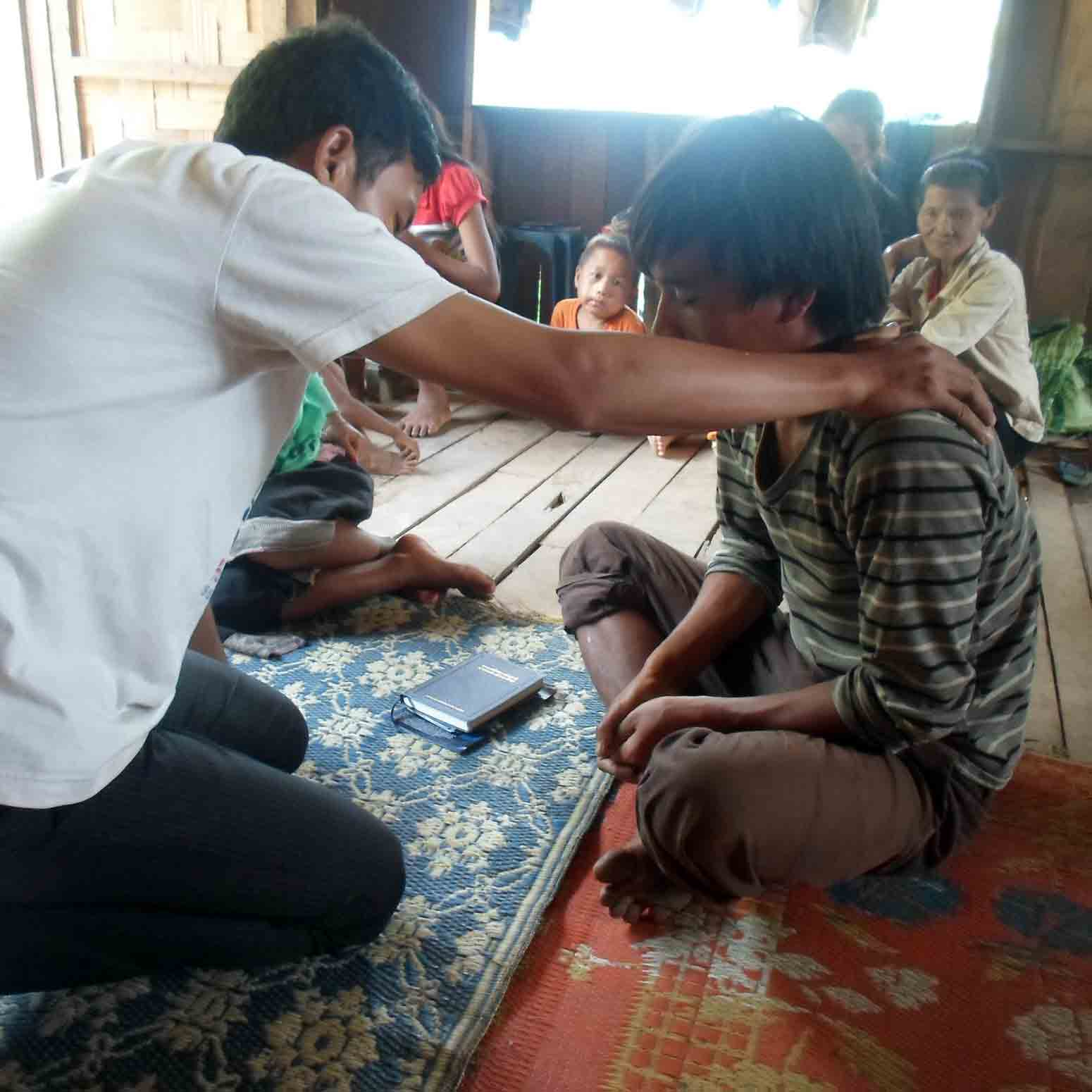Believers in Laos frequently see God move when they pray for healing.
