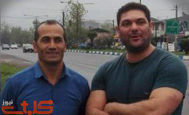 Behnam Ersali and Davood Rasooli (Photo Credit: Mohabat News)