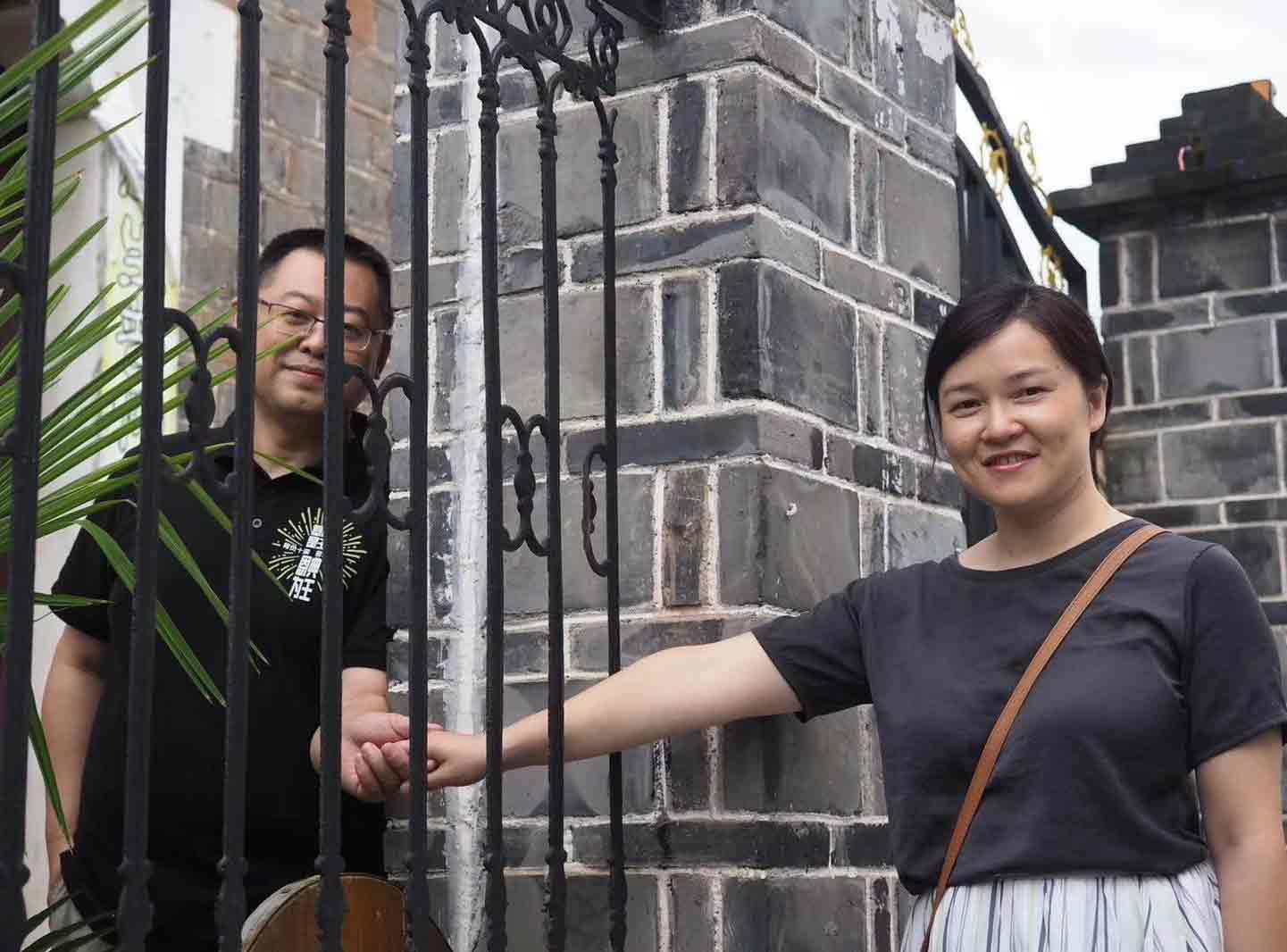 Both Pastor Wang Yi and his wife Jiang Rong are among the arrested church members.