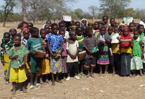 Christian children in Burkina Faso