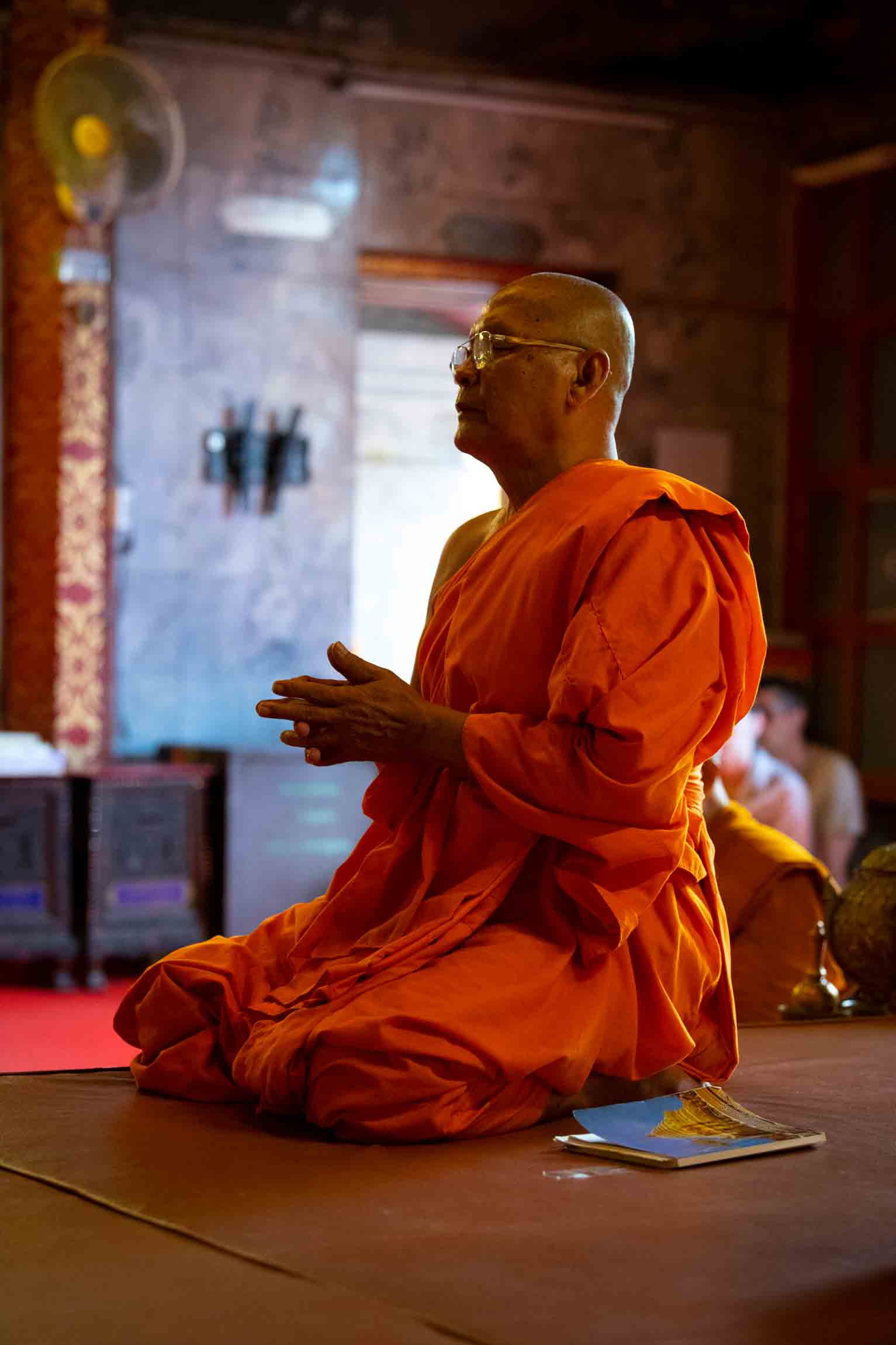 Militant Buddhist monks in Sri Lanka sometimes organize against Christians.