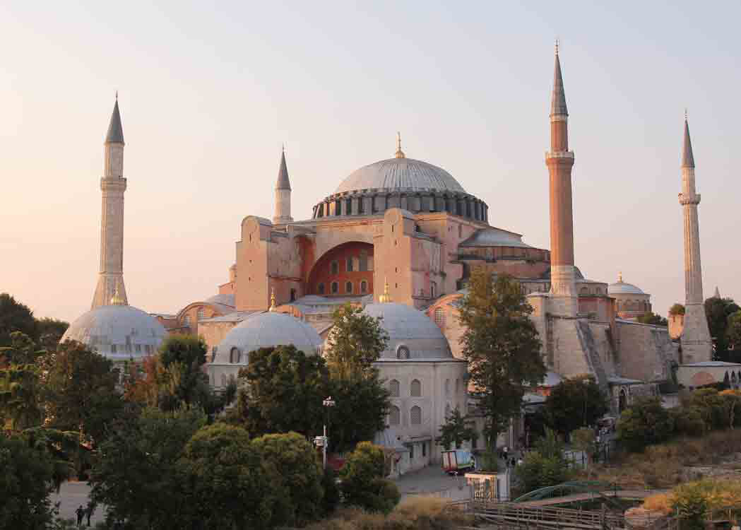 Local officials want to find a way to legally remove a church in Turkey.