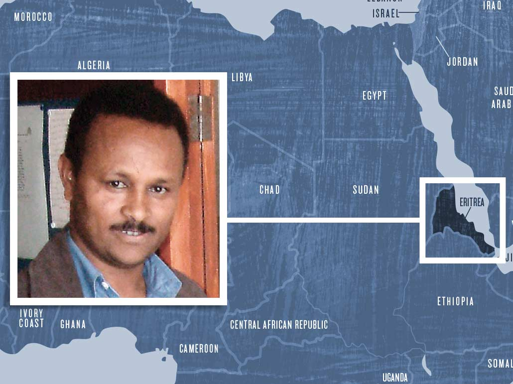 Eritrean pastor Pastor Haile Nayzgi has been in prison since 2004.