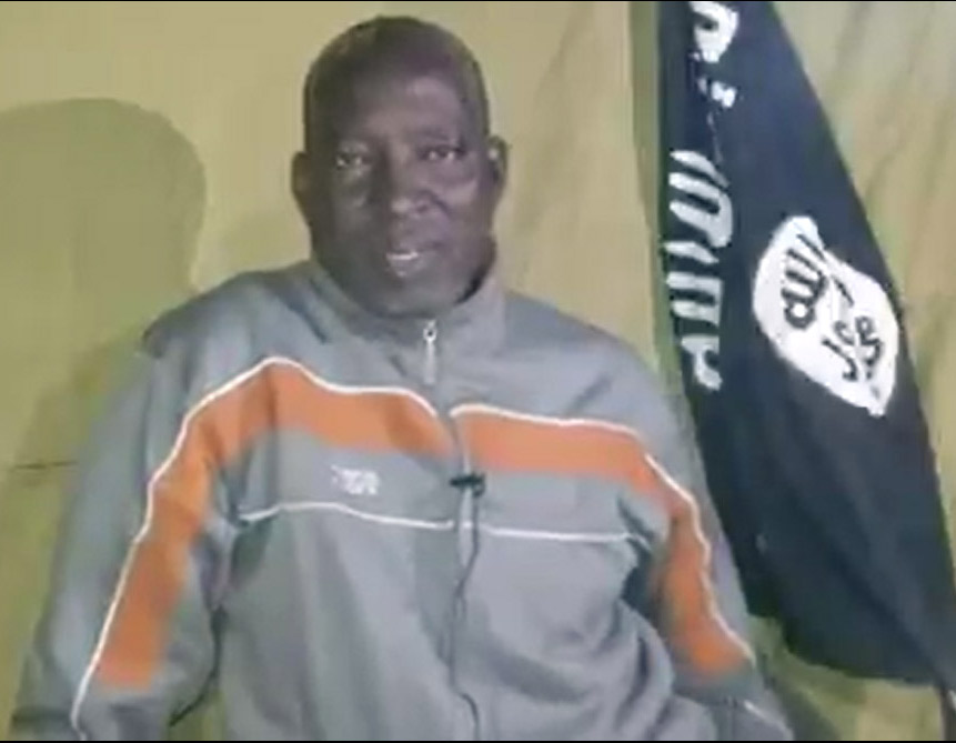 Lawan used the video his terrorist captors took of him to declare his trust in a good God.