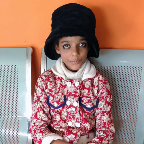 This sweet girl continues to deal with major health complications as a result of the church bombing in 2013.