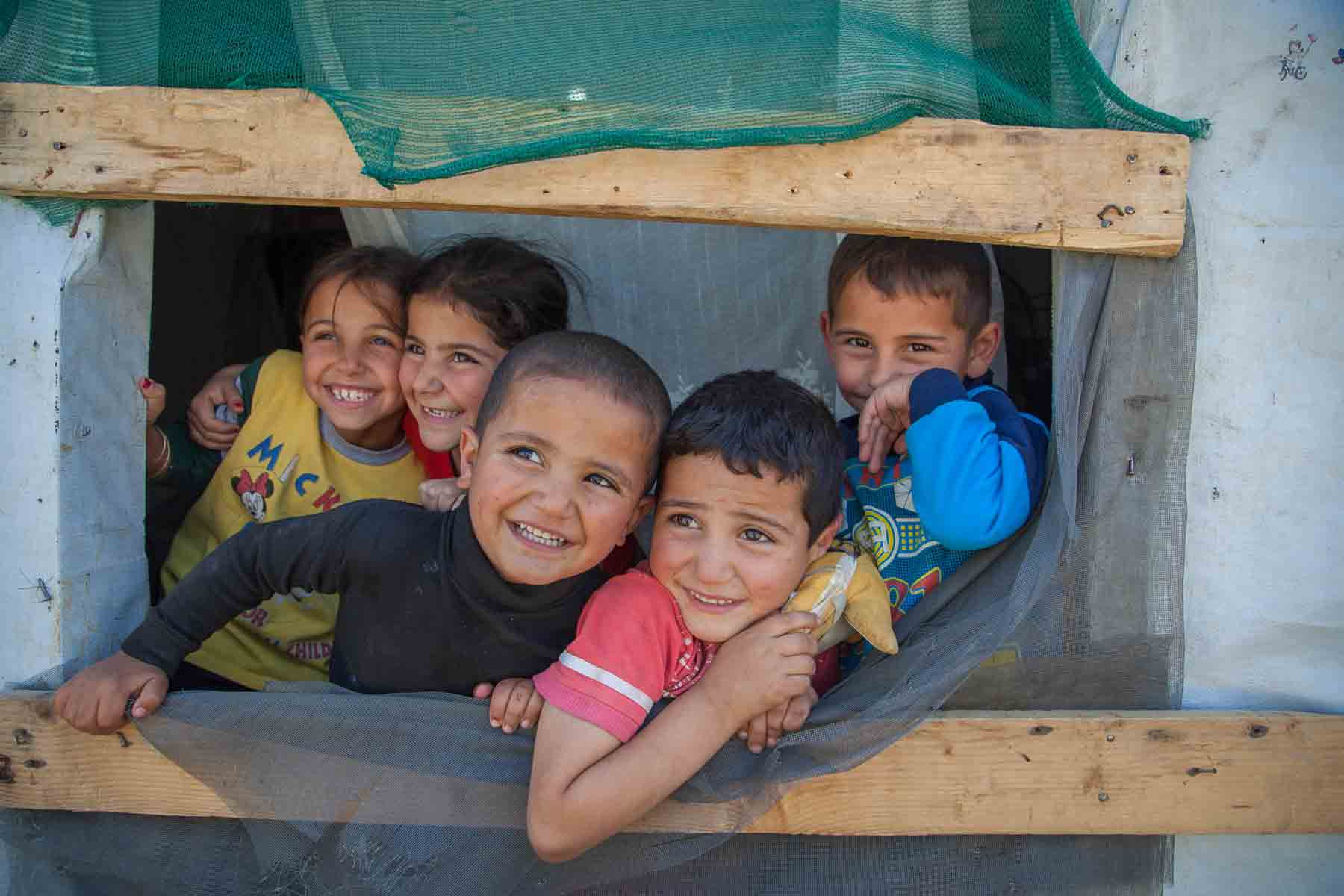Syrian refugee children
