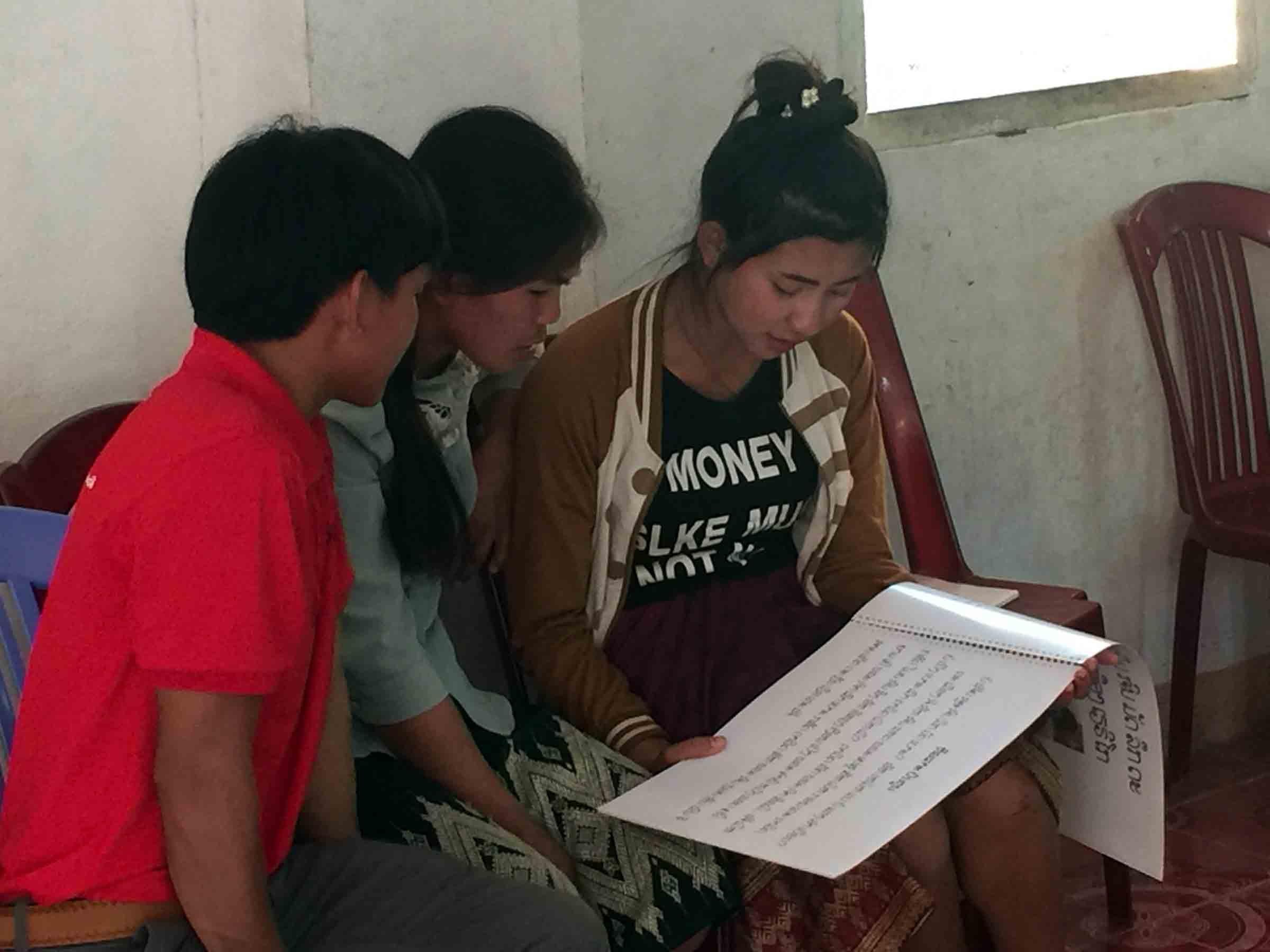 A young Sunday school teacher cannot attend college now because she chose to teach children about Jesus.