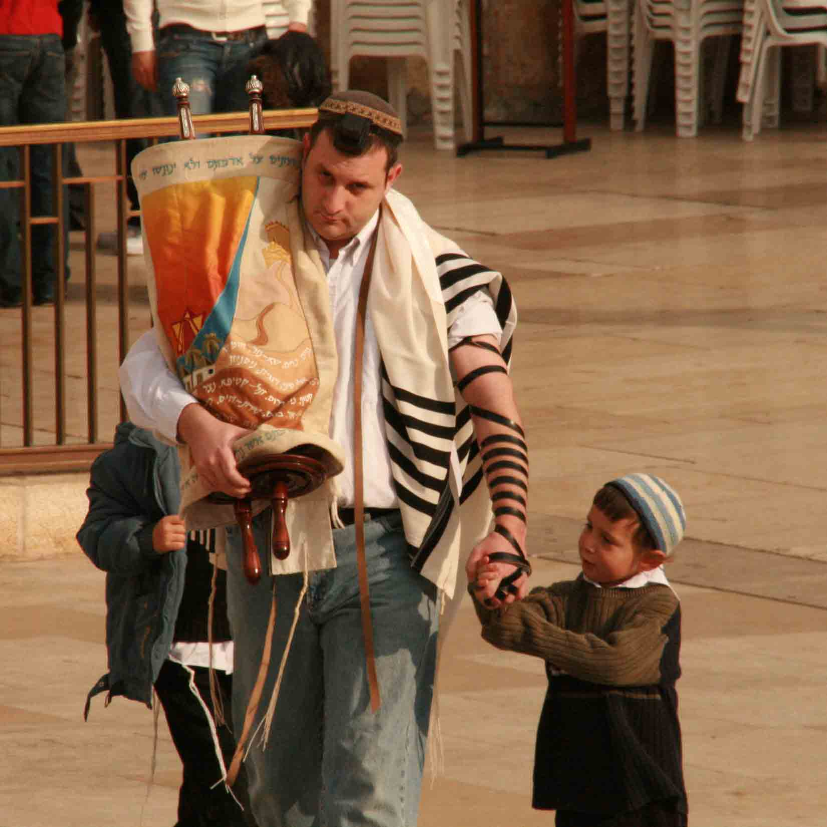 It is common for Orthodox Jews to limit children's education to the Torah and Jewish traditions.
