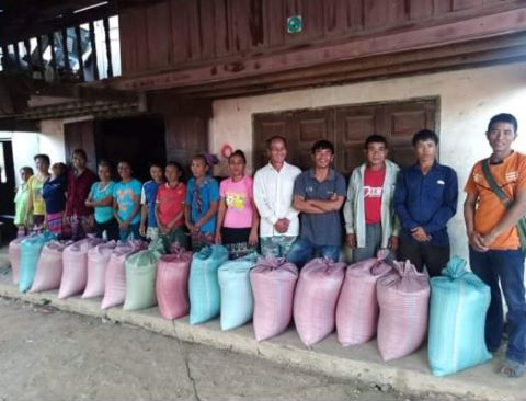 These families remained firm in their faith when they were denied rice after a drought.