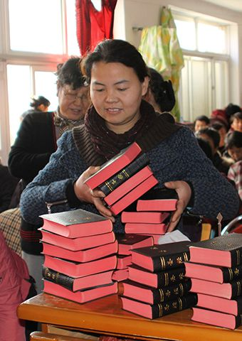 Chinese Christians treasure the Bibles that they have been given.
