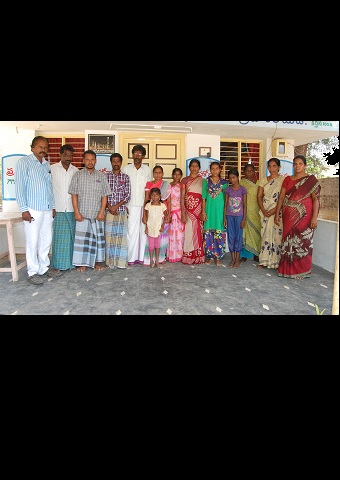 These five Christian families refused to participate in a Hindu festival and were expelled from their village in India.