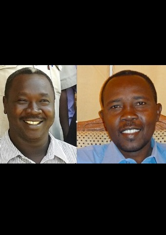 Pastors Kuwa Shemaal (left) and Hassan Abdelrahim Kodi are imprisoned in Sudan (World Watch Monitor).