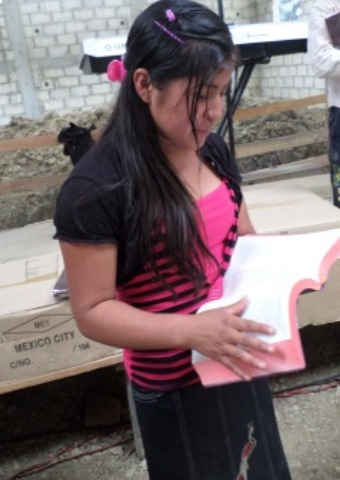 This teenage girl from Chiapas, Mexico faces persecution for her faith.