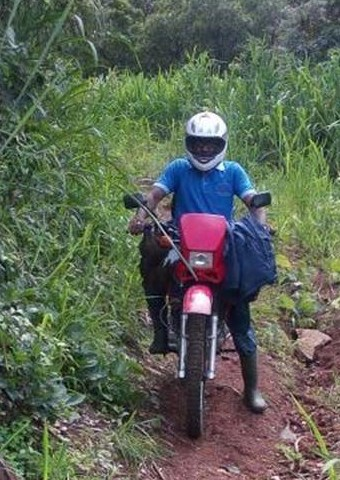 VOM has helped equip Christian workers in Sierra Leone by providing motorbikes so that they can share the gospel in rural areas.