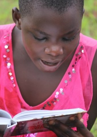 Christian workers distributed children's Bible to girls and boys in remote parts of Uganda.
