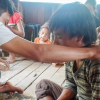 Many people in Laos are coming to Christ because they have been healed through prayers and the gospel message.