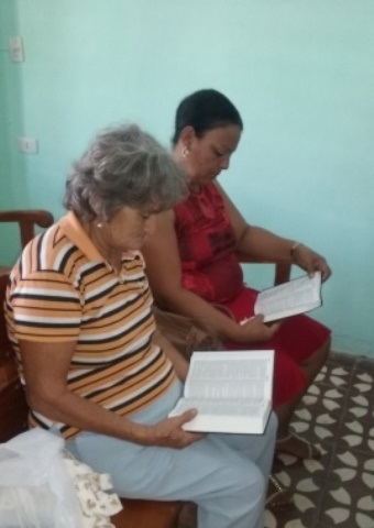 Two members of a Cuban church continue to meet for worship services despite difficulties in the country.