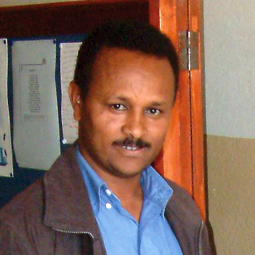 Pastor Haile Nayzgi has spent the last 13 years in prison in Eritrea.